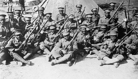 British West Indies Regiment, September 1916