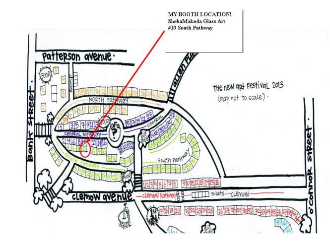 TNAF map